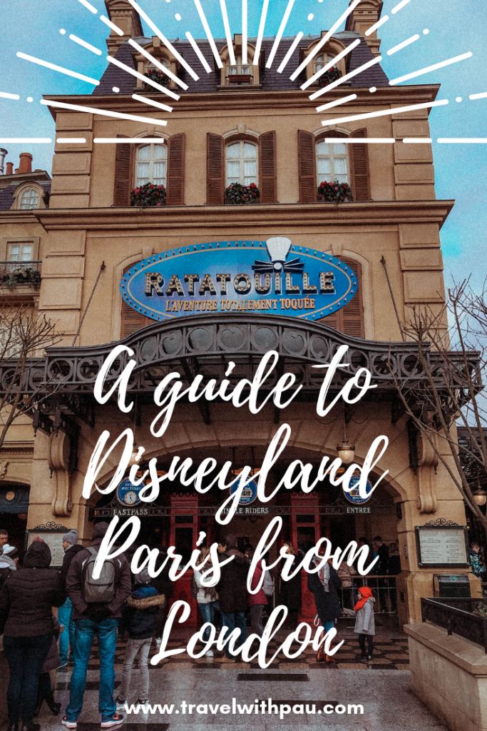 DISNEYLAND PARIS FROM LONDON